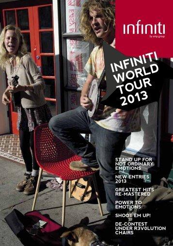 infiniti world tour 2013