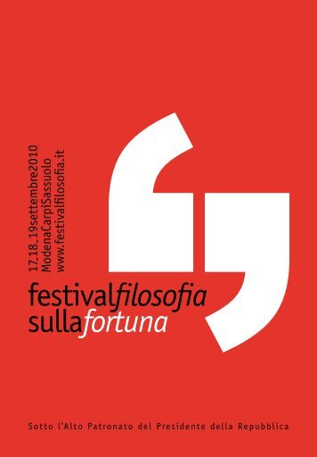 programma PDF - Festival Filosofia