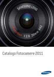 Catalogo Fotocamere 2011 - Samsung Electronics Italia S.p.A.