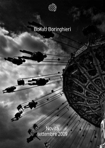 Bollati Boringhieri Novità settembre 2009 - Bollati Boringhieri Editore