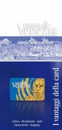 Guida Card - Assessorato al Turismo della Provincia di Venezia