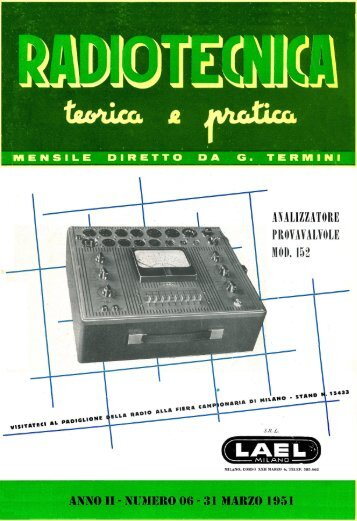 Radiotecnica Teorica e Pratica - Introni.it