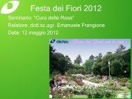 Cura delle Rose - Dichio vivai garden