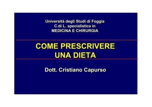 dieta settimanale per dislipidemia