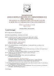 FOURTEENTH ASSISI EUROPEAN MEETING ON ...