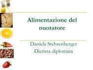 Presentazione di Daniela Stehrenber - Nuoto Sport Locarno