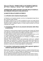 Giovanni Reale, STORIA DELLA FILOSOFIA ANTICA