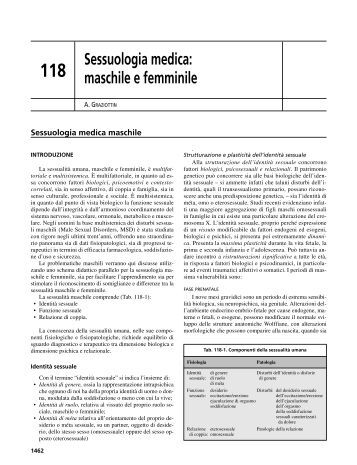 Sessuologia medica: maschile e femminile - Alessandra Graziottin