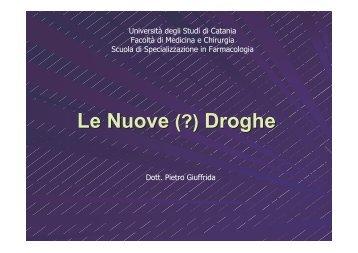 Le Nuove (?) Droghe