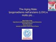 ipogonadismo nell'anziano - Associazione Geriatri Extraospedalieri