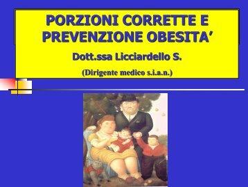 obesita - Commissione Mensa scolastica