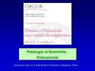 Intervento Francesco Conti - Osservatorio Nazionale sulla salute ...