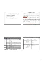3-TEST METABOLISMO GLUCIDICO - Sezione di Microbiologia