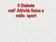 Il Diabete nell' Attività fisica e nello sport (.pdf) - Cardiosport