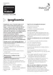 Ipoglicemia - Diabetes UK