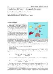 Metabolismo dell'alcol e patologia alcol-correlata - Cedostar