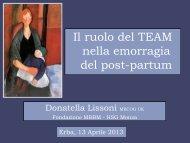 Convegno del 13 aprile 2013_Donatella Lissoni - Fatebenefratelli