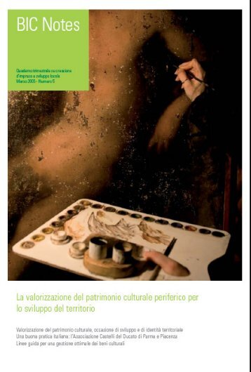 I beni culturali come motore per - Biclazio.it
