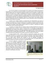 Ficha N° 15 PET - PCR - Alimentos Argentinos