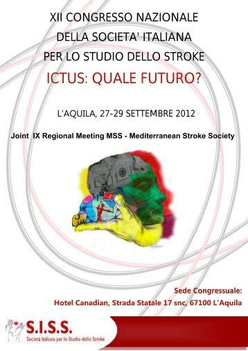 Programma - Società Italiana per lo Studio dello Stroke