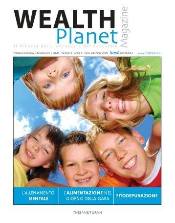 Wealth Planet rivista 3 2009 - Wealthplanet.it