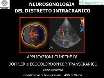 NEUROSONOLOGIA DEL DISTRETTO INTRACRANICO - siemg