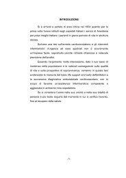 TESI DI LAVARINI MONICA - Formazione In Emergenza Sanitaria