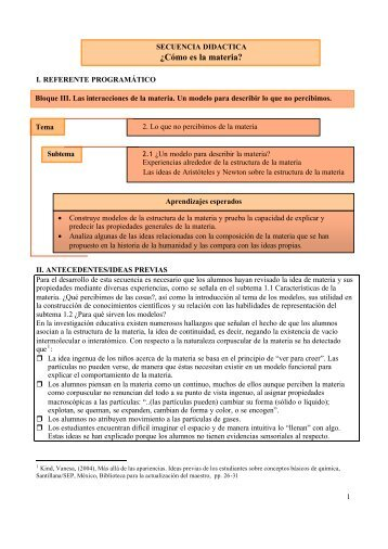 Bloque III subtema 2.1 - Reforma de la Educación Secundaria