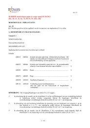 HOOFDSTUK IX : IMPLANTATEN