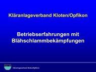 Vortrag TU Wien (ppt-Präsentation) als pdf-Datei - Kläranlage Kloten ...