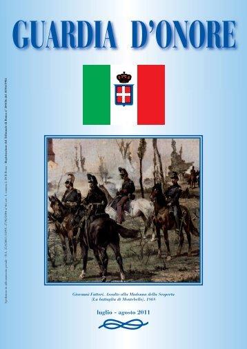 Numero 4 Luglio-Agosto 2011 - Istituto Nazionale per la Guardia d ...