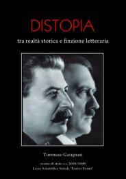 Distopia tra realtà storica e finzione letteraria - Storia e Memoria