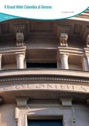 Il Grand Hôtel Colombia di Genova - Banca Carige