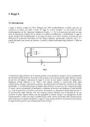 5. Raggi X - infm udr padova