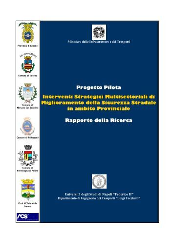 Interventi Strategici Multisettoriali - Sicurezza stradale Salerno