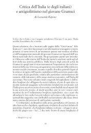 e antigiolittismo nel giovane Gramsci - Unitus DSpace