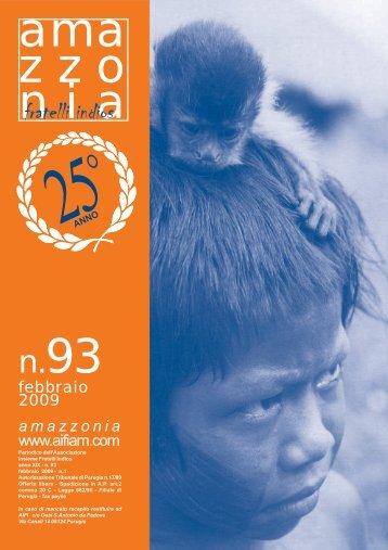 amazzonia - Insieme Fratelli Indios