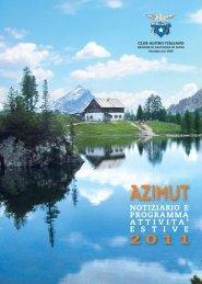 Azimut 2011 - CAI - Sezione di San Donà di Piave