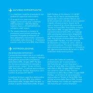 Guida alle prestazioni assicurative - Bnl