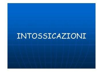 INTOSSICAZIONI - Avapmontecreto.Org