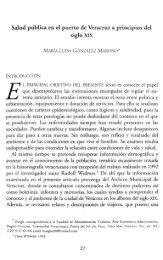 Salud pública en el puerto de Veracruz a principios del siglo XIX 27
