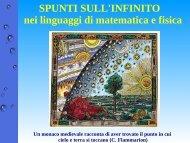 Infinity - Dipartimento di Matematica