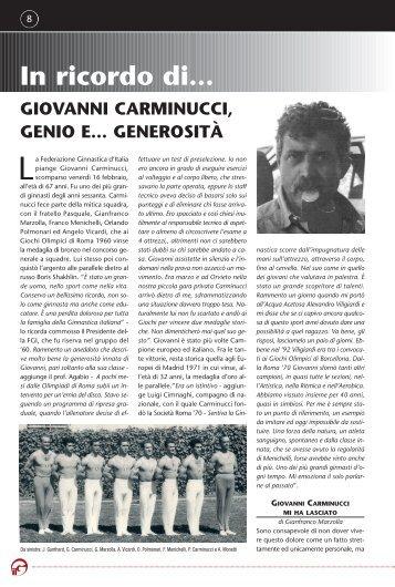 Giovanni Carminucci - Federazione Ginnastica d'Italia