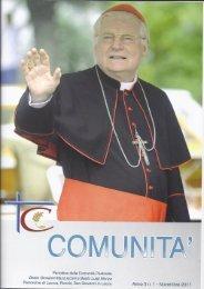 Anno 5 n. 1 - Novembre 2011 - Parrocchia SS. Pietro e Paolo