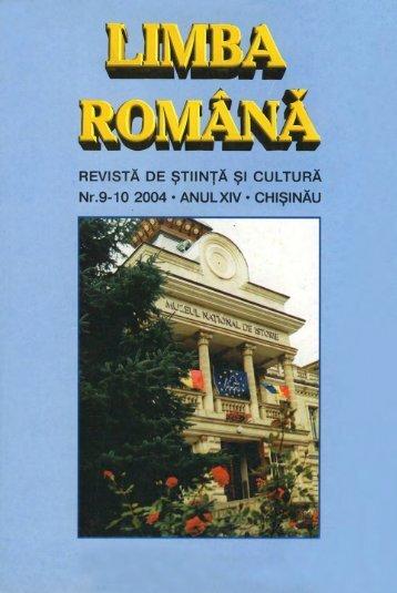 PDF - Limba Romana