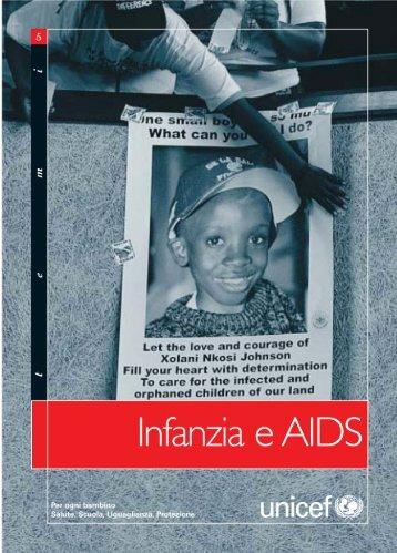 Infanzia e AIDS - Unicef