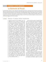 La Recherche di Proust - Loescher Editore