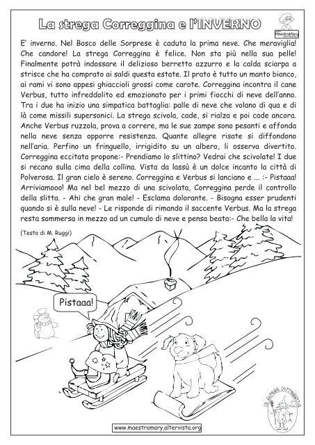 Testo di m ruggi maestra mary home altervista for Maestra mary inverno addobbi