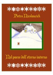 Nel paese dell'eterno inverno - Pietro Nicolaucich