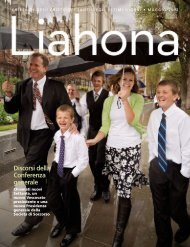 Maggio 2012 Liahona - The Church of Jesus Christ of Latter-day ...